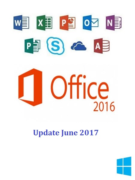 Office Pro Plus 2016 v16.0.4549.1000 (x86-x64) June 2017