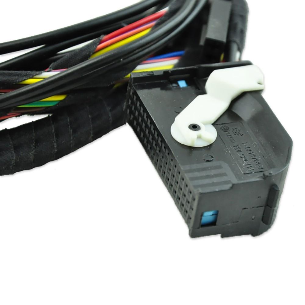 Bluetooth Module Direct Plug Harness 9w2 1k8 035 730 D Fit: VW Bluetooth Module Wiring Harness Adapter Upgrade RCD510