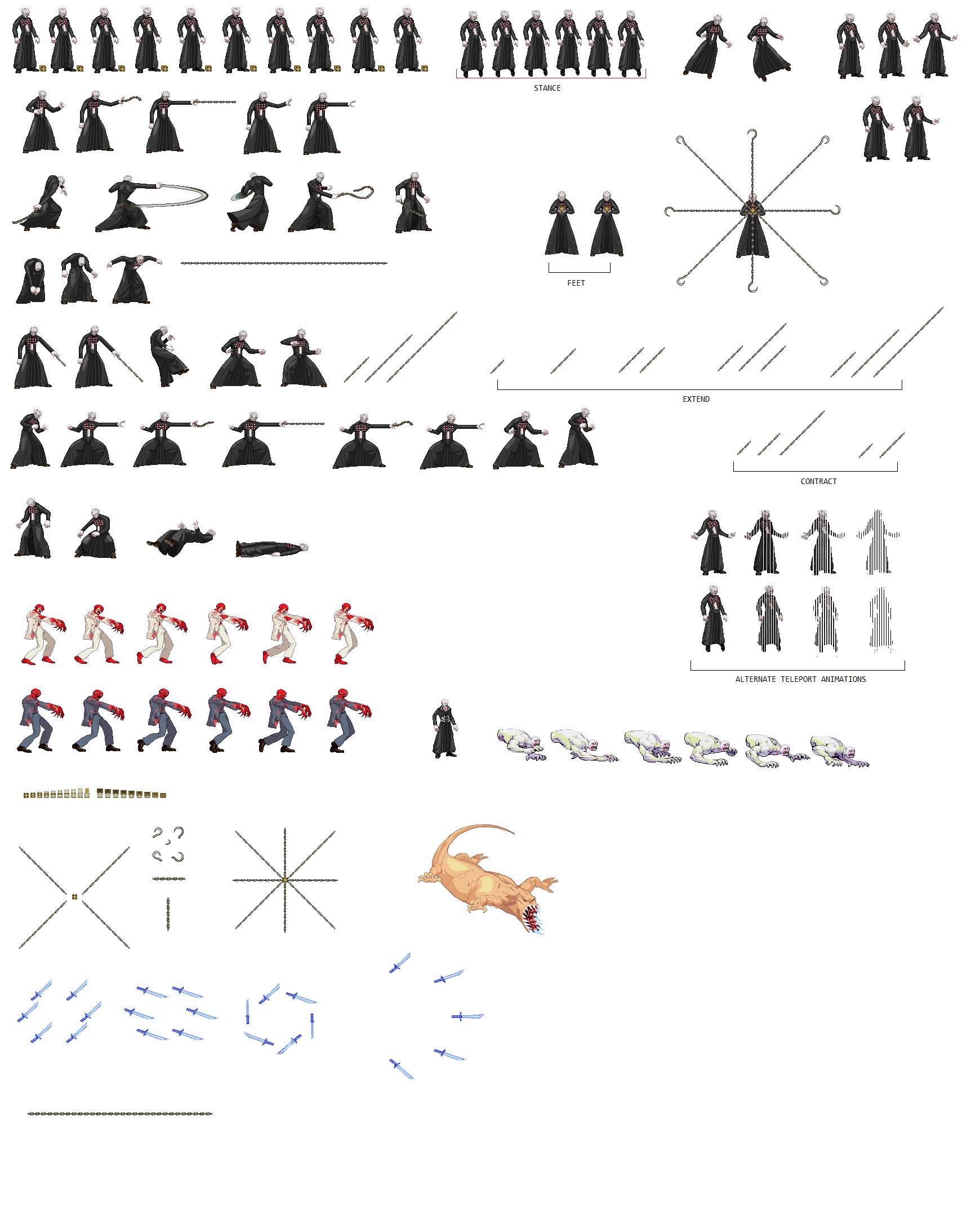 [Image: Pinhead-Sprite-Sheet.png]