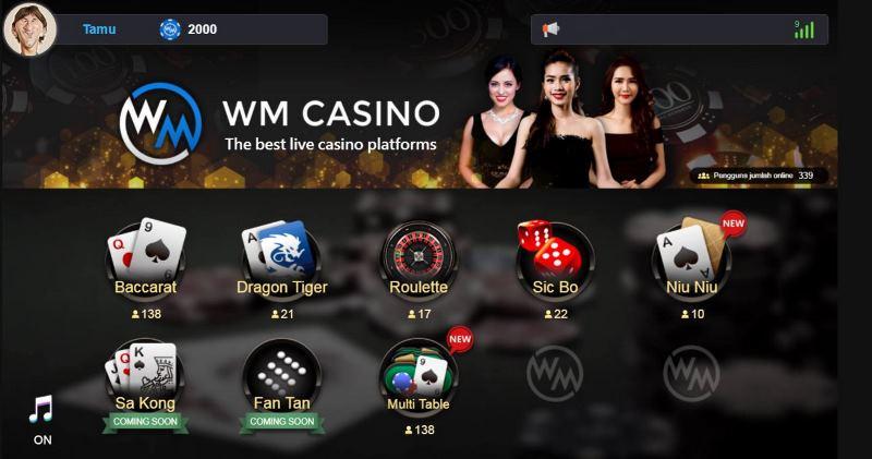 WM casino terbaik