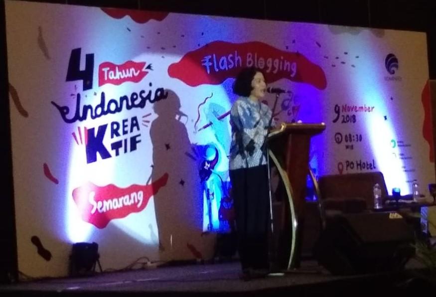 Flash Blogging Bareng Kemkominfo : 4 Tahun Indonesia Kreatif