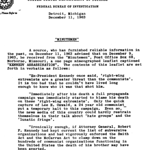minutemen_11dec63_newsletter_oswald_is_a