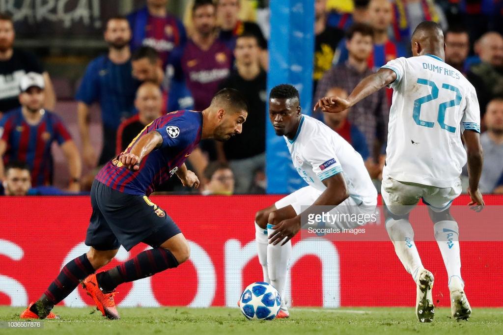 صور مباراة : برشلونة - PSV إندهوفن 4-0 ( 18-09-2018 )  Uis