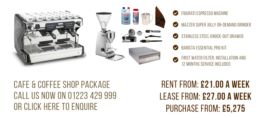 Cafe & Coffee Shop Machine Package