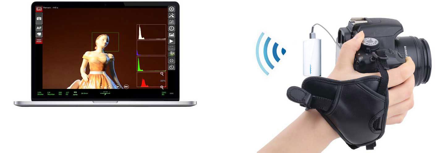 Details about Wifi Wireless Liveview Remote Nikon D810 D610 D800 D7000  D7100 D4 D3 Mac Android