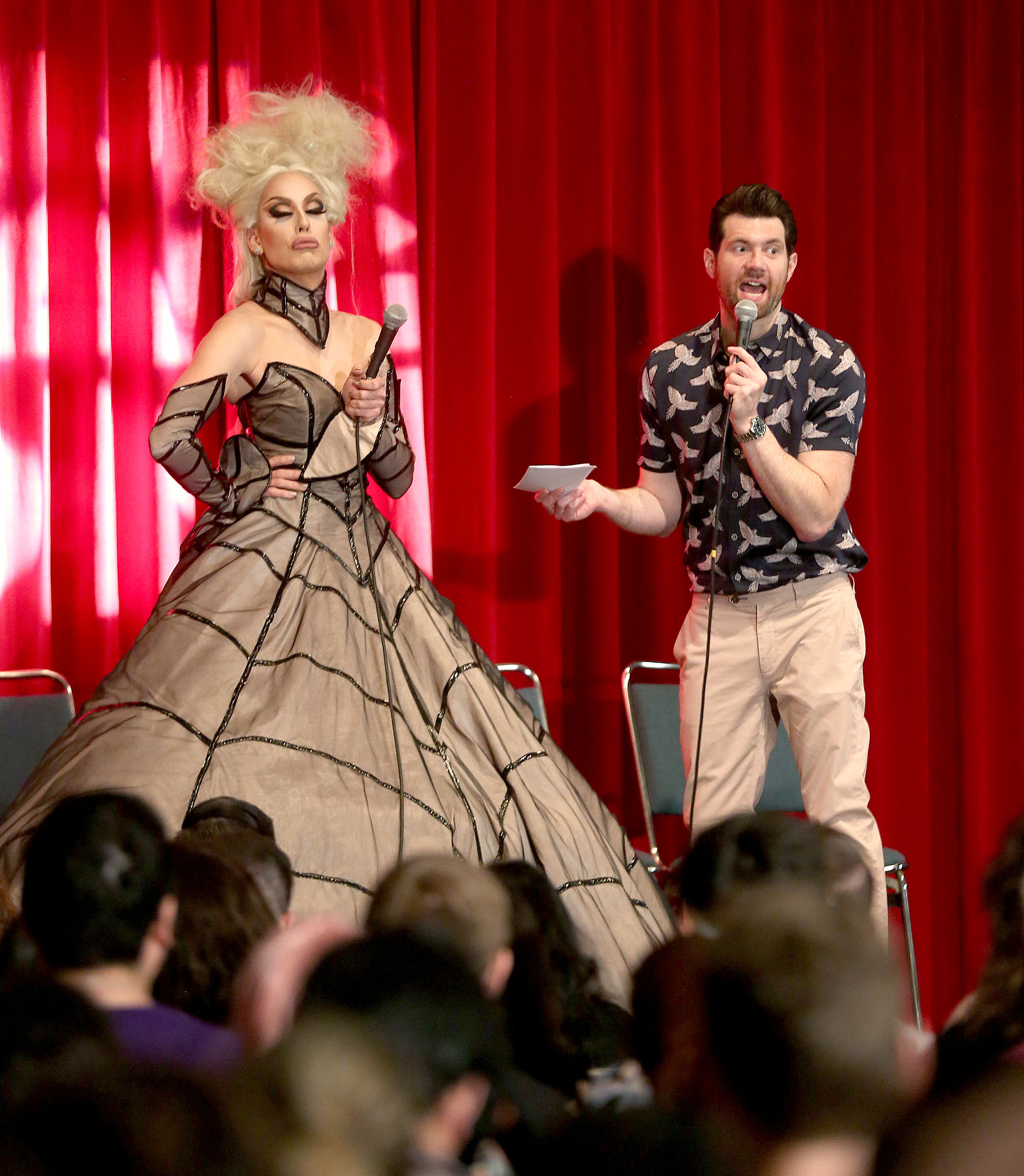 Alaska Billy Eichner Glam Up the Midterms Dragcon