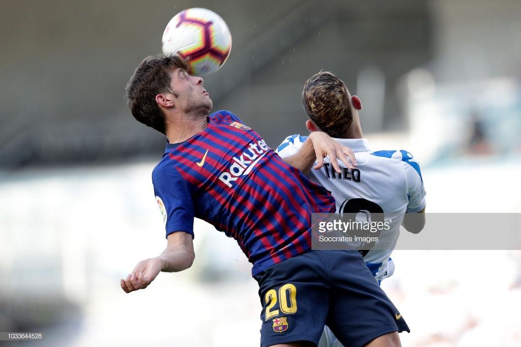 صور مباراة : ريال سوسيداد - برشلونة 1-2 ( 15-09-2018 ) H