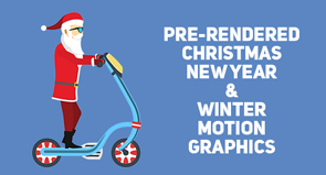 Christmas, New Year and Winter Collection- Motion Graphics