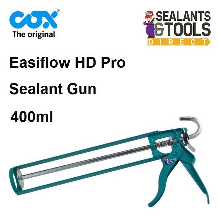COX Easi Flow HD sealant gun silicone pc cox