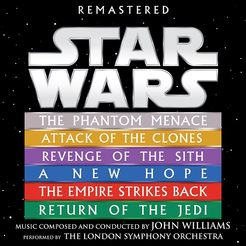 Star Wars: Episodes I-VI (by John Williams, The London Symphony Orchestra) (Remastered) (2018) [MP3]