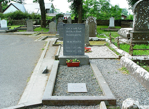 County Sligo W B Yeats at Drumcliff