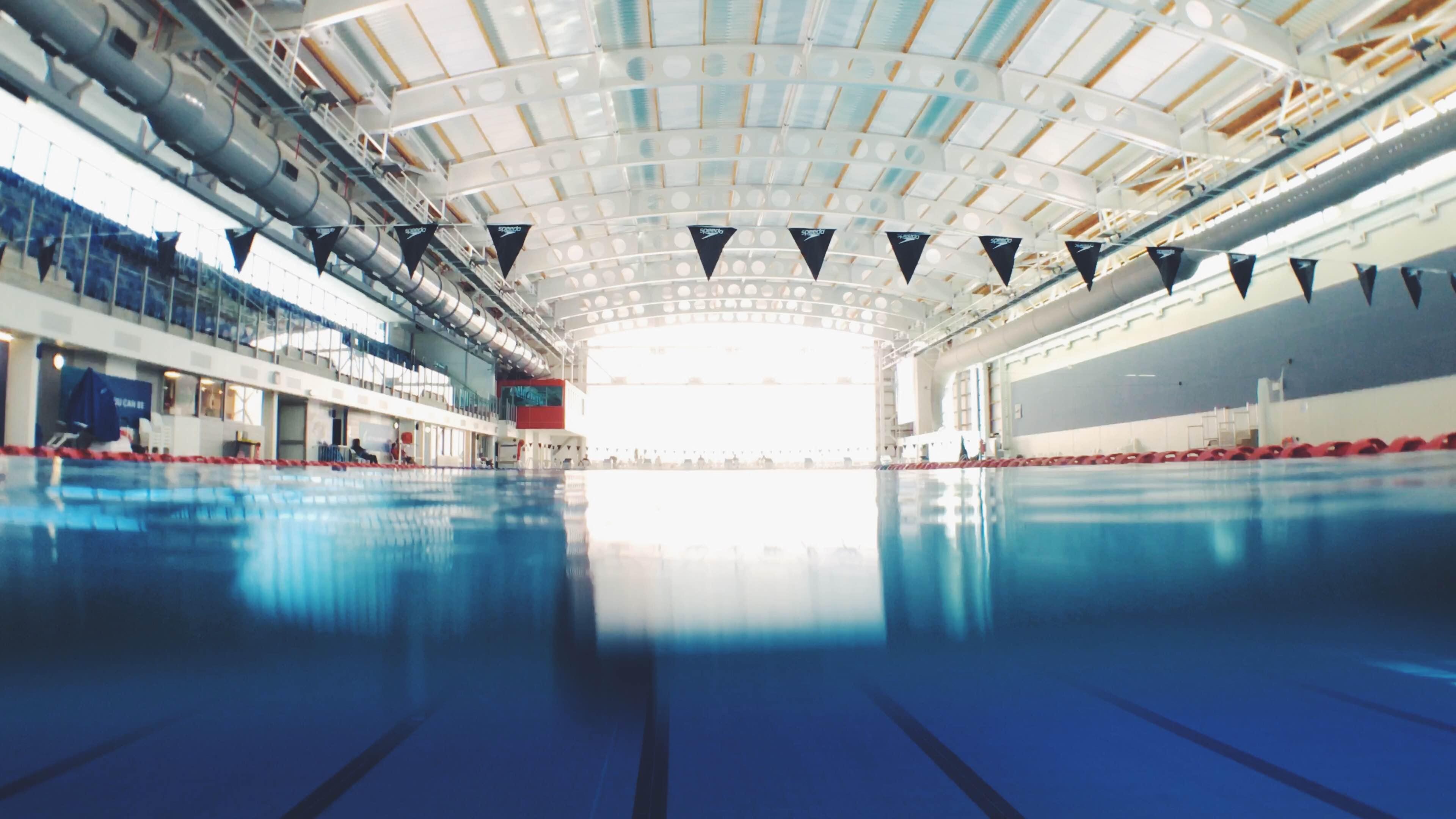 Chlorine is used to keep swimming pools clean
