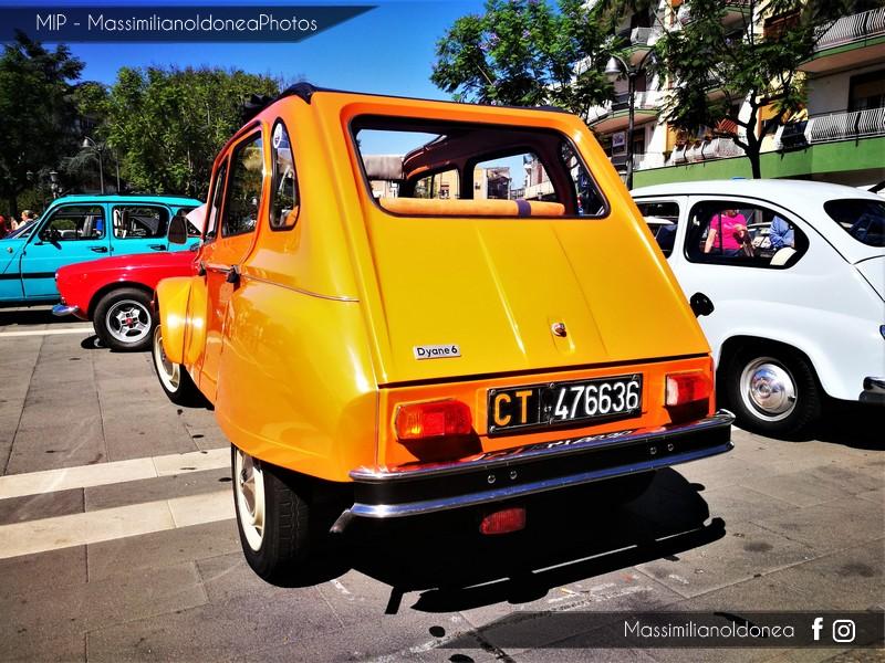 Raduno auto e moto d'epoca San Giovanni La Punta Citroen_Dyane_600_76_CT476636_4