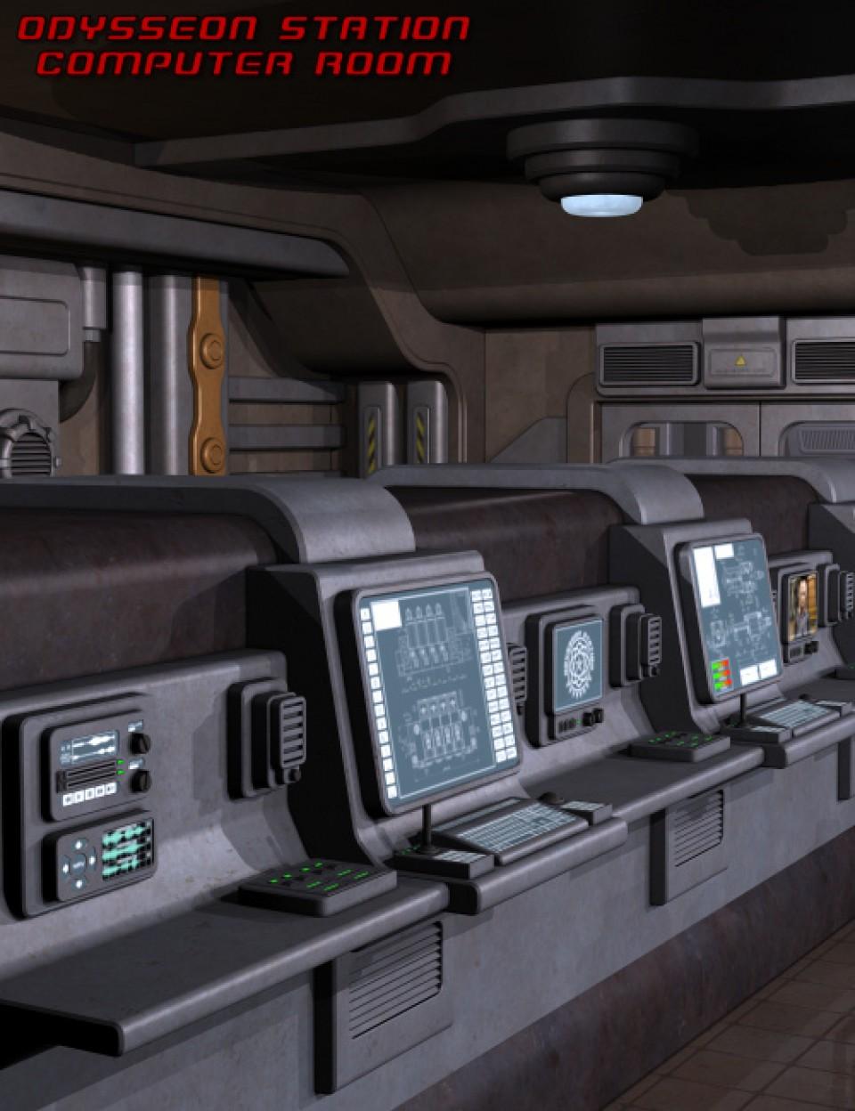 Odysseon Station Computer Room