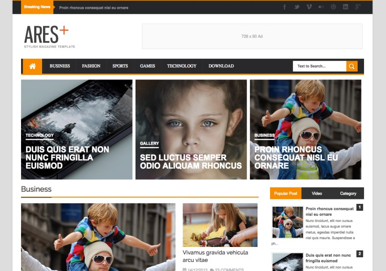 Ares_Responsive_Blogger_Template_3