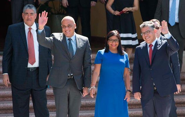 Exigiremos cese del bloqueo económico en el diálogo — Jorge Rodríguez