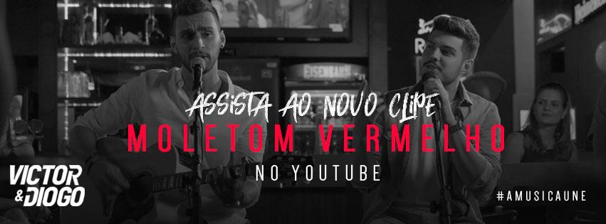 Victor e Diogo – Moletom Vermelho (2018)