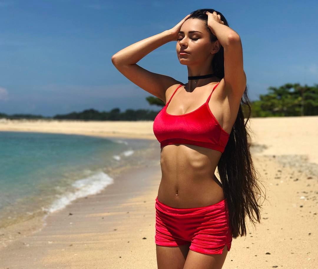 Helga Lovekaty Real Name helga lovekaty - bio | fitness models biography