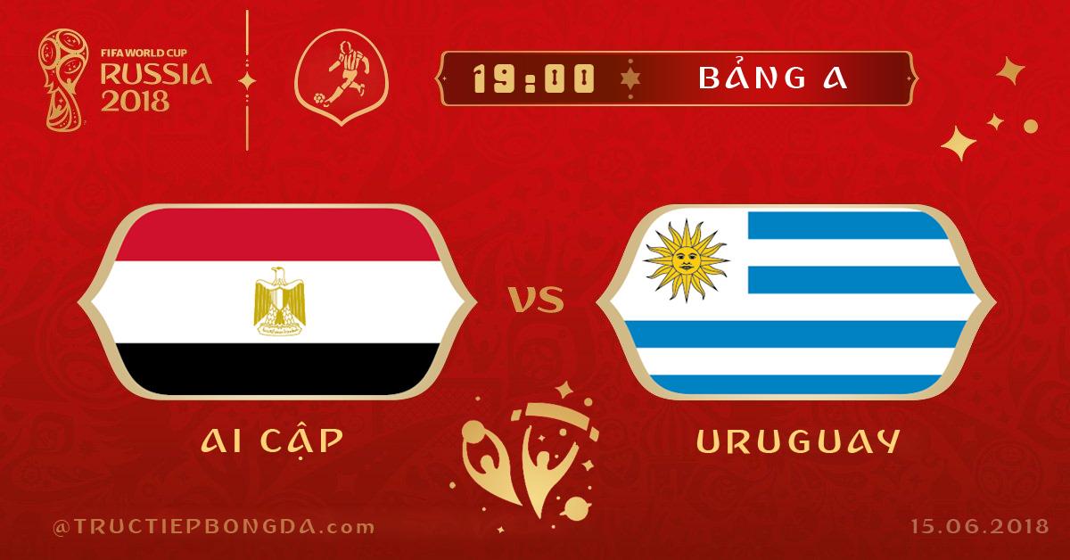 Ai Cập vs Uruguay