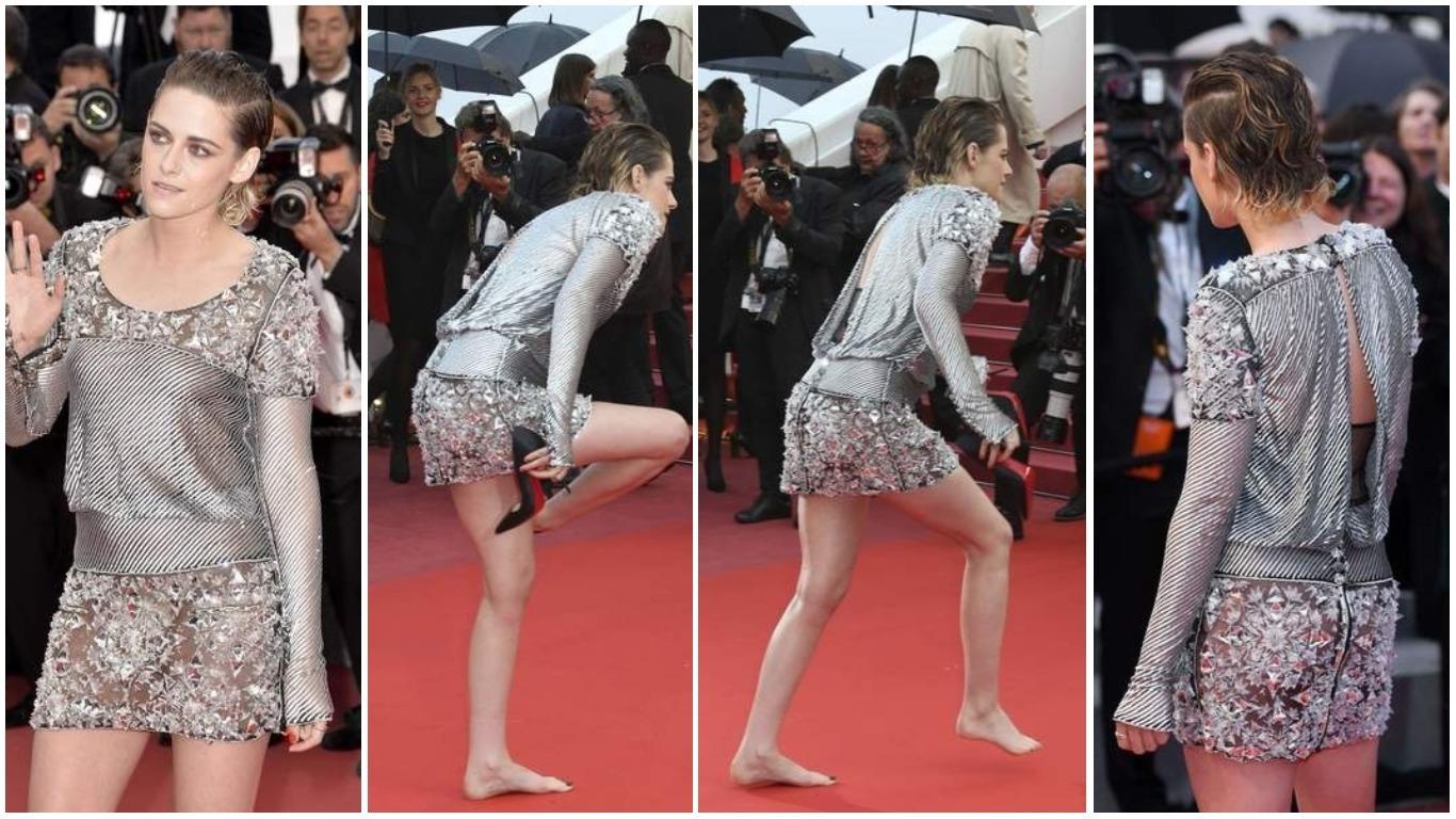 "PROTEST PROTIV 'NEPISANIH PRAVILA': Kristen Stewart filmska ""Pepeljuga"" u mini haljini"