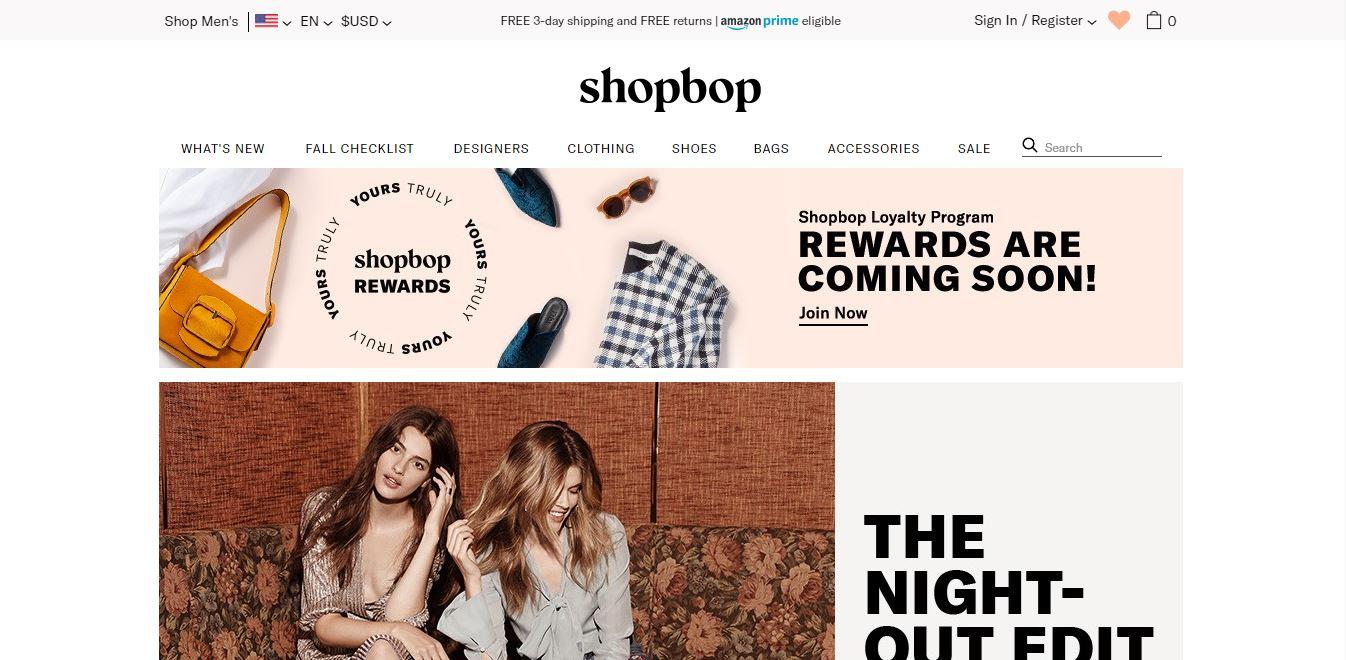 Shopbop Review