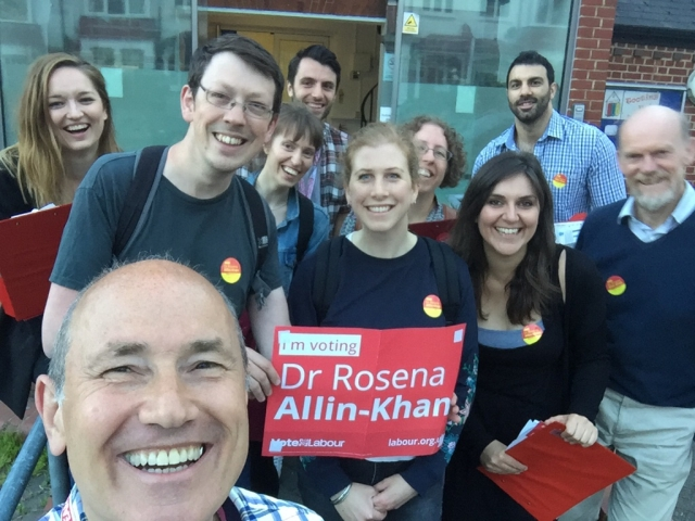 Photo of canvassers on 31 May 2017 2 of 2