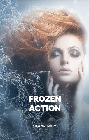 Frozen Photoshop Action