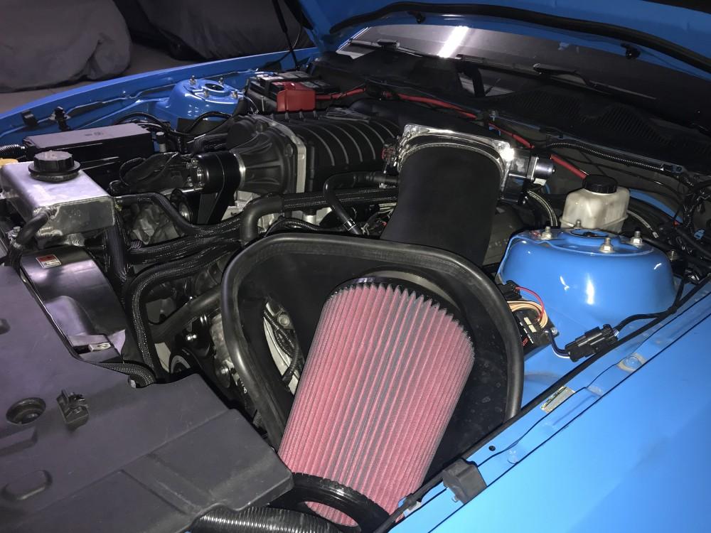 Built 2014 Grabber Blue Mustang GT