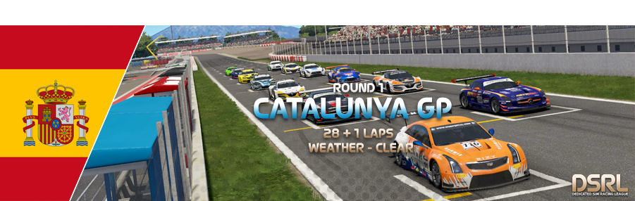 Round 1 - Catalunya GP - Sign In/Out R1