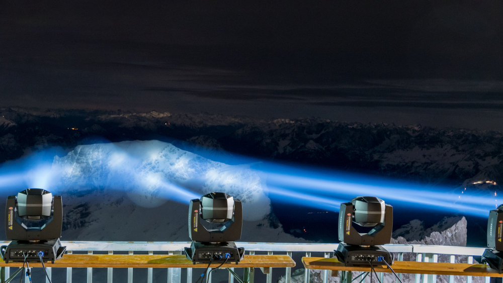 1 5 - Впервые в мире! Высококлассное спортивное мероприятие и новейшая технология на уровне почти 3000 метров над уровнем моря!