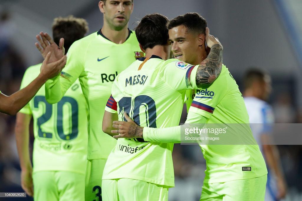 صور مباراة : ليغانيس - برشلونة 2-1 ( 26-09-2018 ) Llll