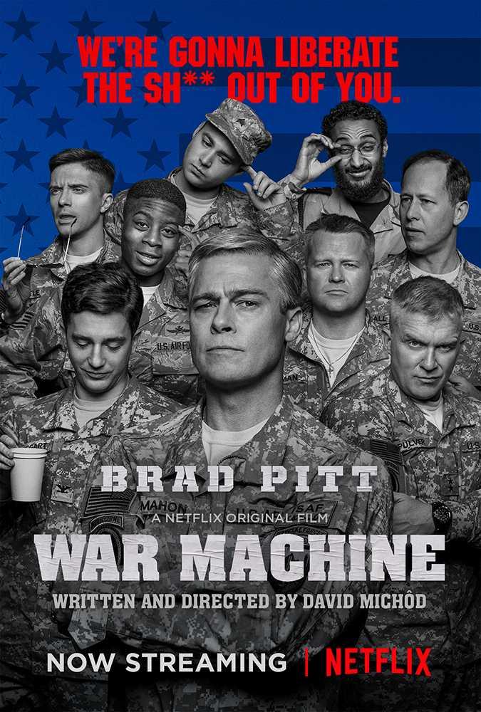 War Machine [2017][WEB DL-LATINO][MEGA]