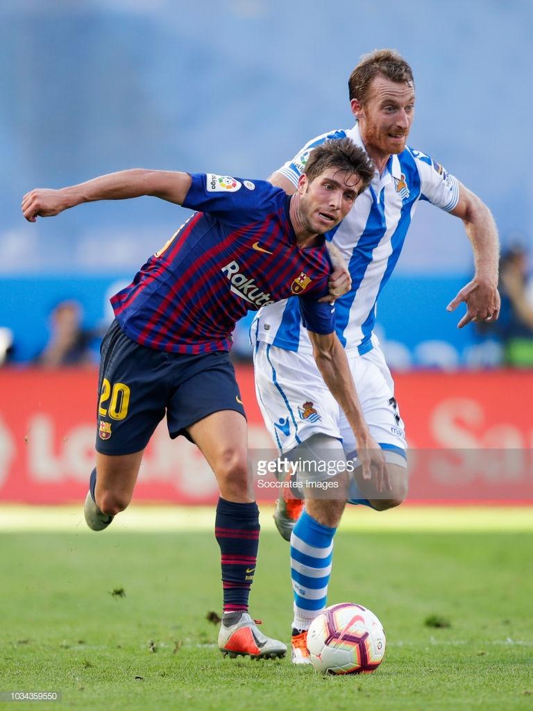 صور مباراة : ريال سوسيداد - برشلونة 1-2 ( 15-09-2018 ) S2