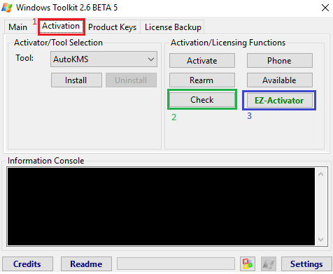 Microsoft Toolkit 2 6 5 – active Window and Office | IT SOFT