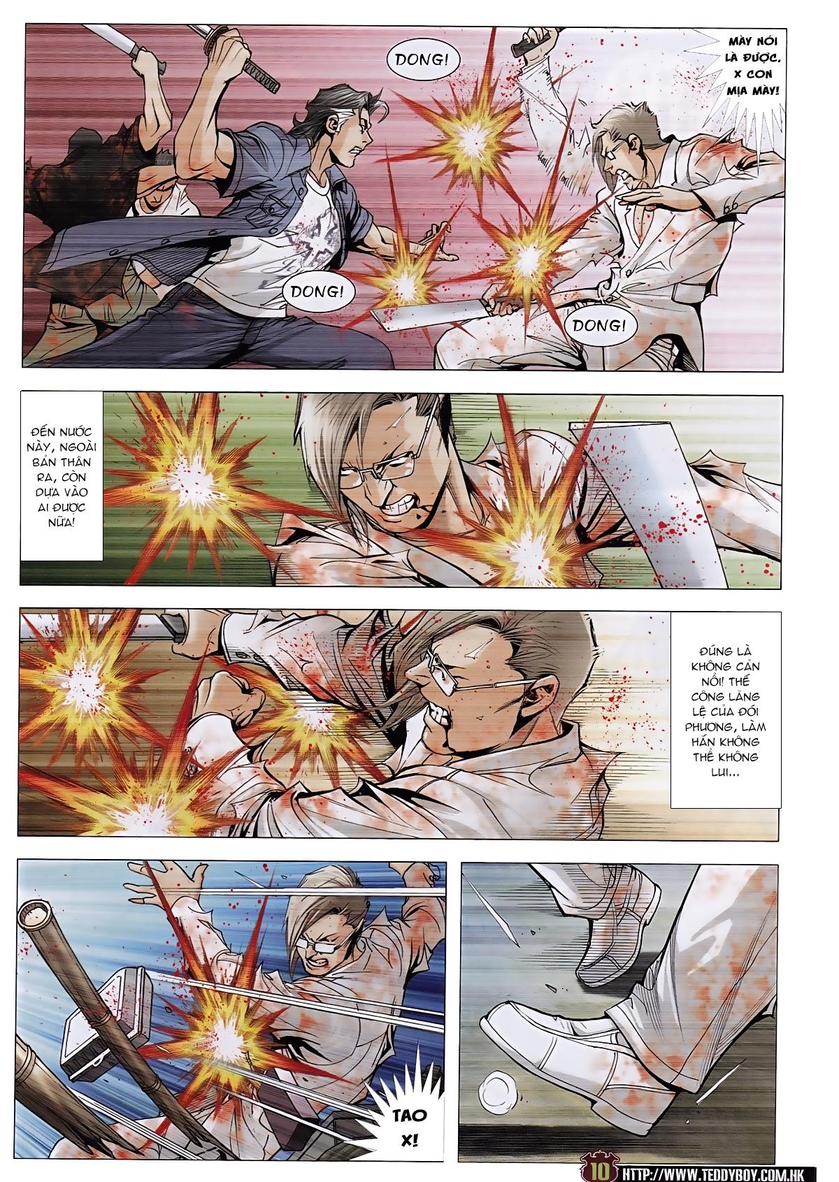 Người Trong Giang Hồ chapter 1963: đấu tử tử đấu trang 8