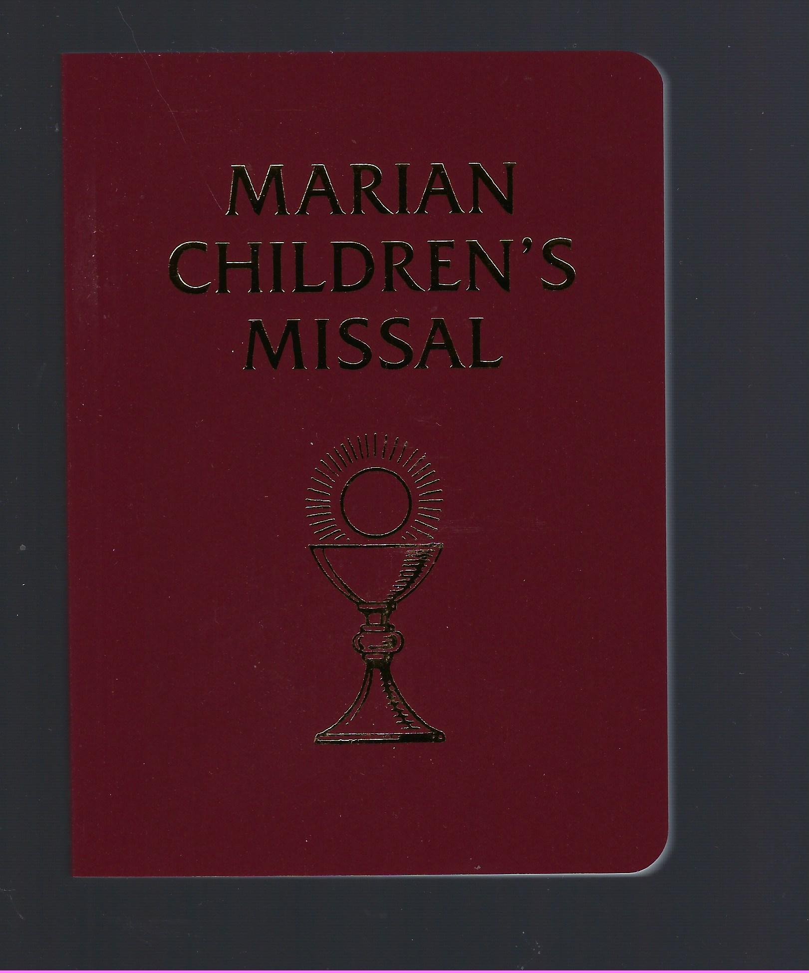 Marian Children's Missal (Tridentine Mass)