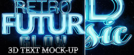 glow3d_Text_Mockups