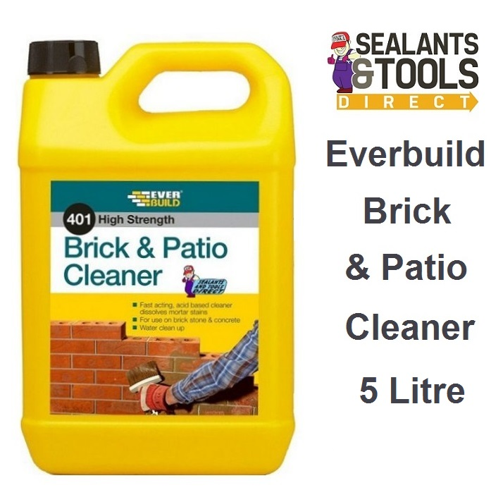 Everbuild 401 Brick and Patio Cleaner 5 Litre BC5L