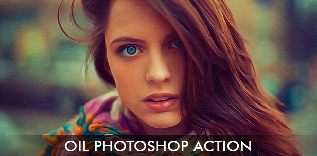 Oil Photoshop Action
