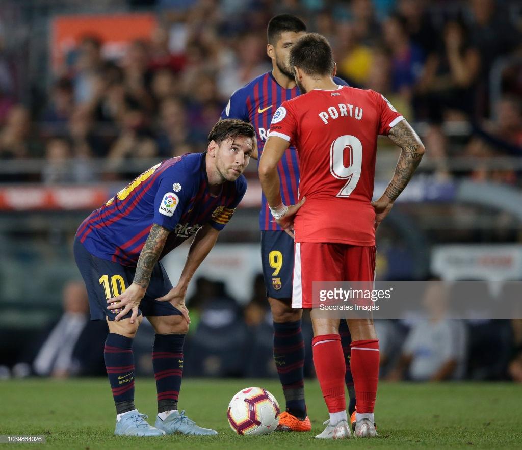 صور مباراة : برشلونة - جيرونا 2-2 ( 23-09-2018 )  L7
