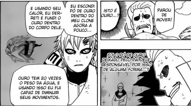 Como Gaara manteve seus Poderes depois de Perder a Biju Naruto557_16