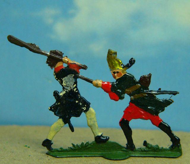 Gruppenfigur zur Schlacht bei Fehrbellin 1675