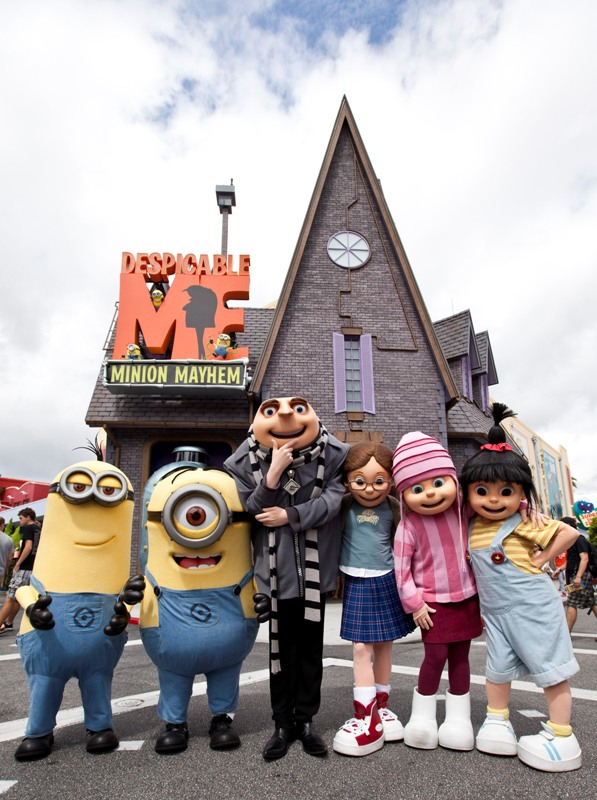 Despicable Me Characters Universal Studios Florida