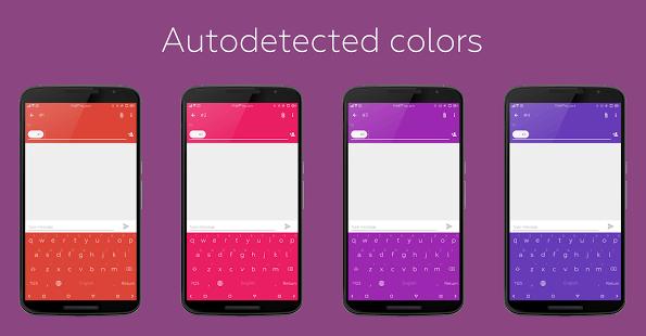 Flat Style Colored Keyboard Pro 3.4.0 APK