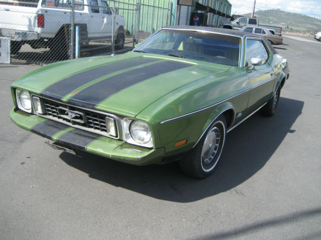 1973 ford mustang grande 58l no reserve 1 1