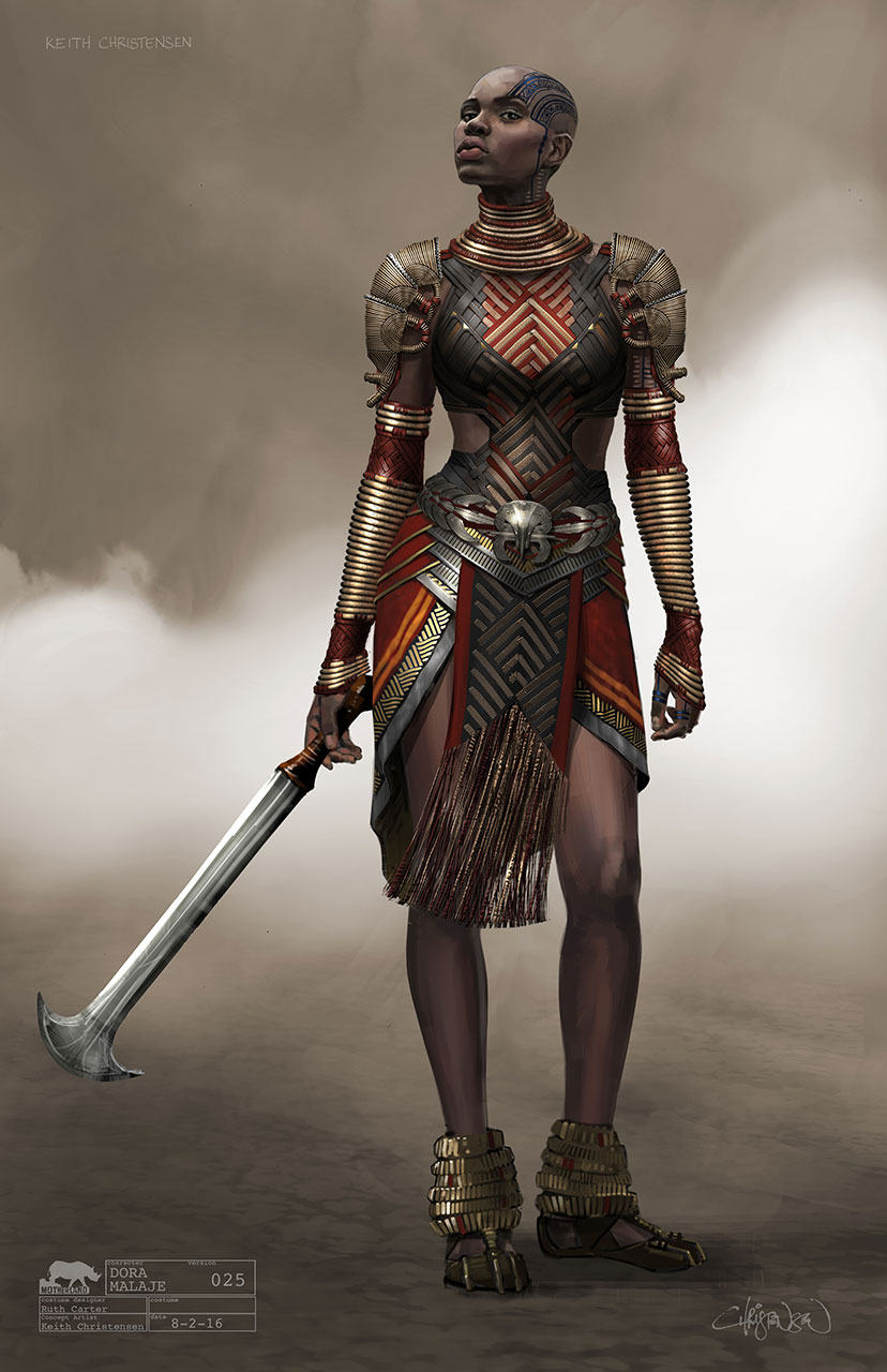Black Panther Concept Art Dora