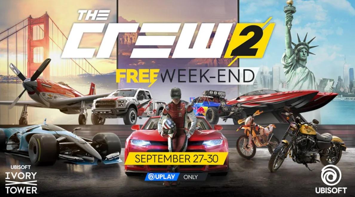 В The Crew 2 на PC предлагают играть совсем бесплатно