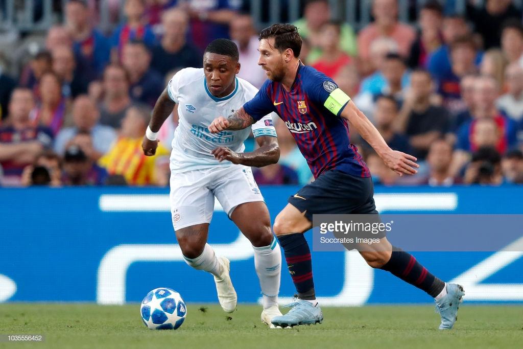 صور مباراة : برشلونة - PSV إندهوفن 4-0 ( 18-09-2018 )  Image