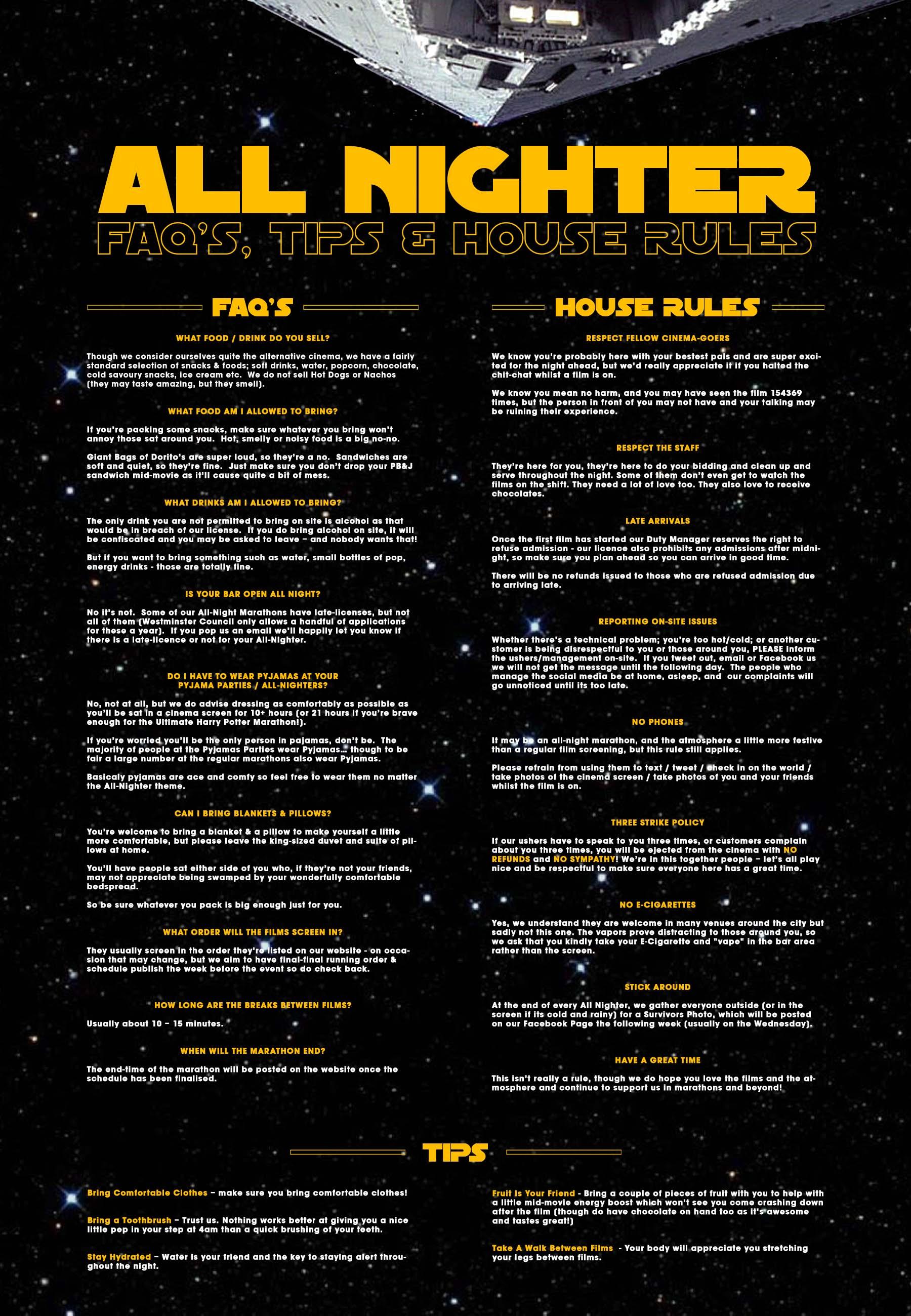 Rules & FAQ