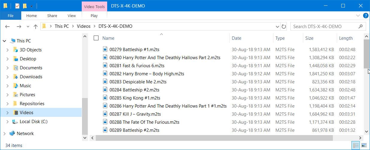 Blu Ray Demo Discs Discussion thread